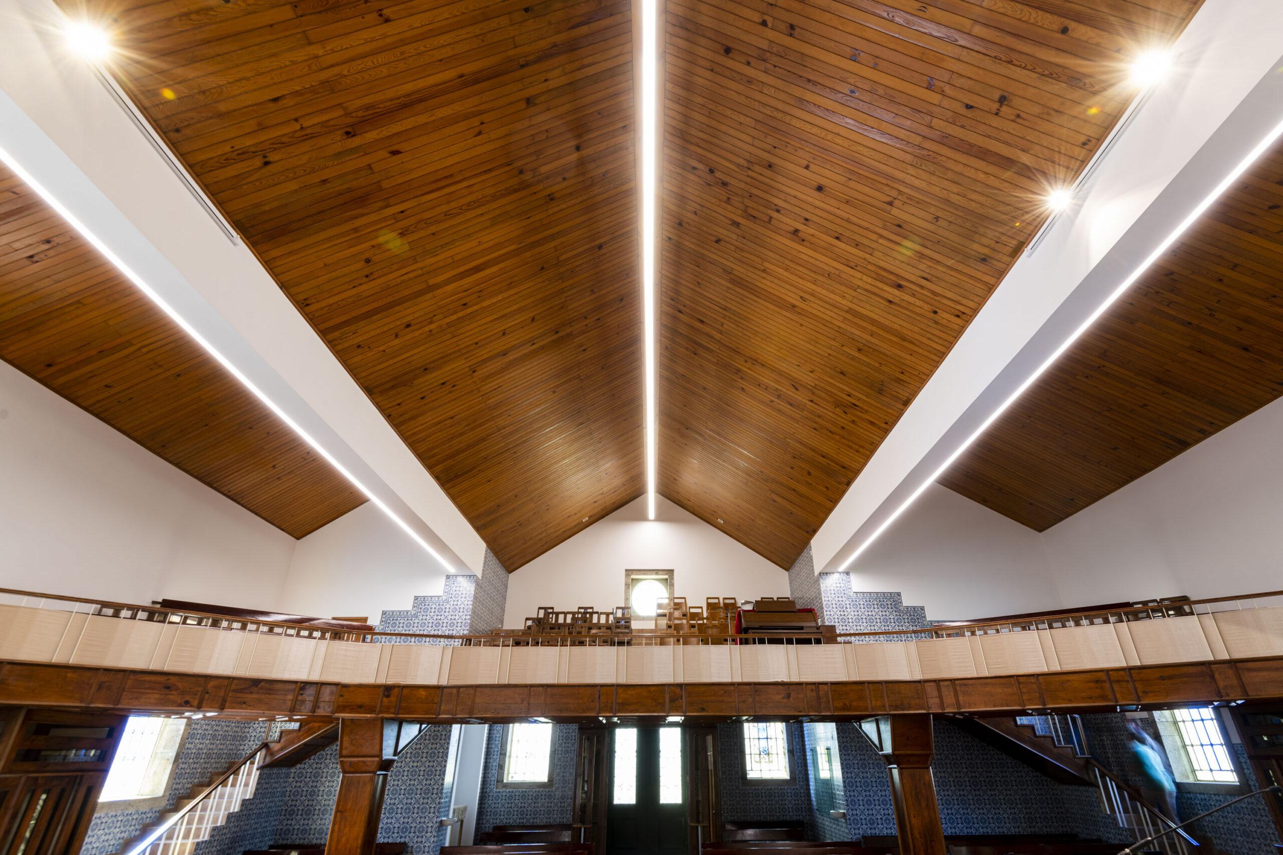 Iluminação Igreja Paroquial de Santa Eulália de Sobrosa